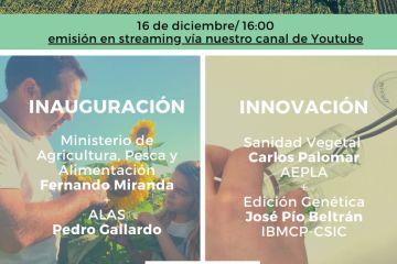 Webinar ALAS: Innovación, tecnología y digitalización para el futuro de la Agricultura en España