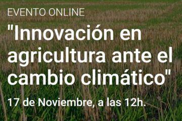 Innovación en agricultura ante el cambio climático
